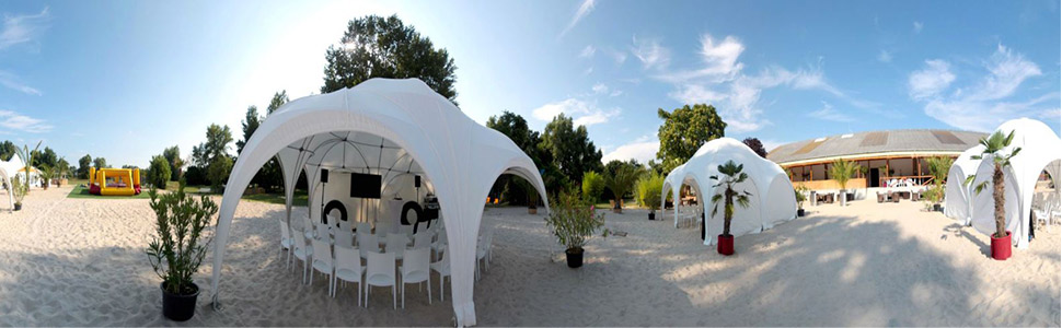 Beach Club Raum Frankfurt